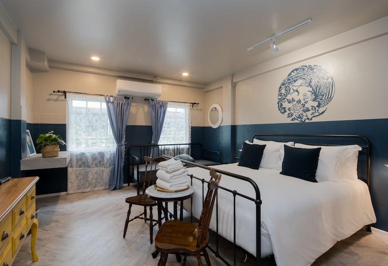 布吉城鎮藍猴精品酒店, 布吉, Deluxe Double Bed, 客房