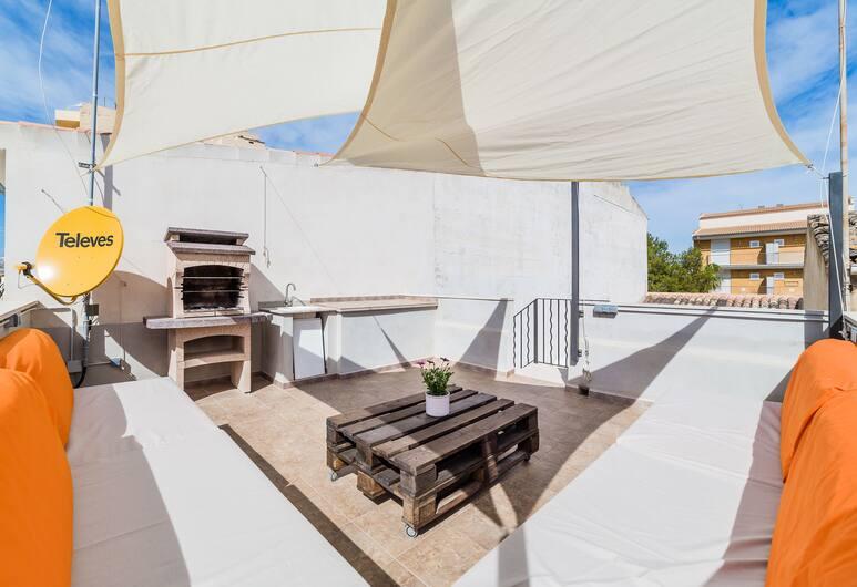 Ca Sa Padrina by LOCALITE, Santa Margalida, Ferienhaus, 2Schlafzimmer, Terrasse, Terrasse/Patio