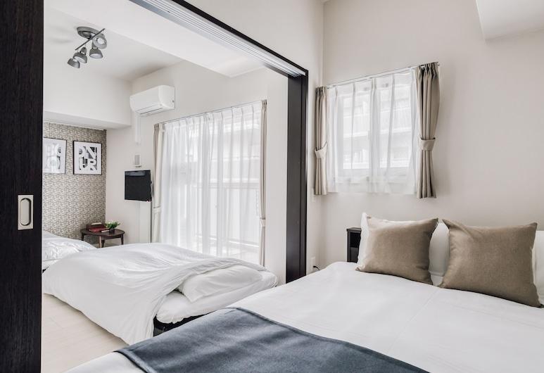 본 콘도미니엄 우메다, 오사카, 컴포트 쿼드룸 (with 1 Double beds and 2 Sofa bed), 객실