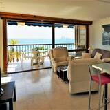 شقة - غرفتا نوم - منظر للشاطئ - منطقة المعيشة