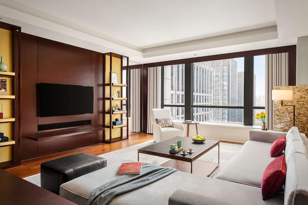 Fairmont, Apartmán, 1 extra veľké dvojlôžko, nefajčiarska izba - Hosťovská izba