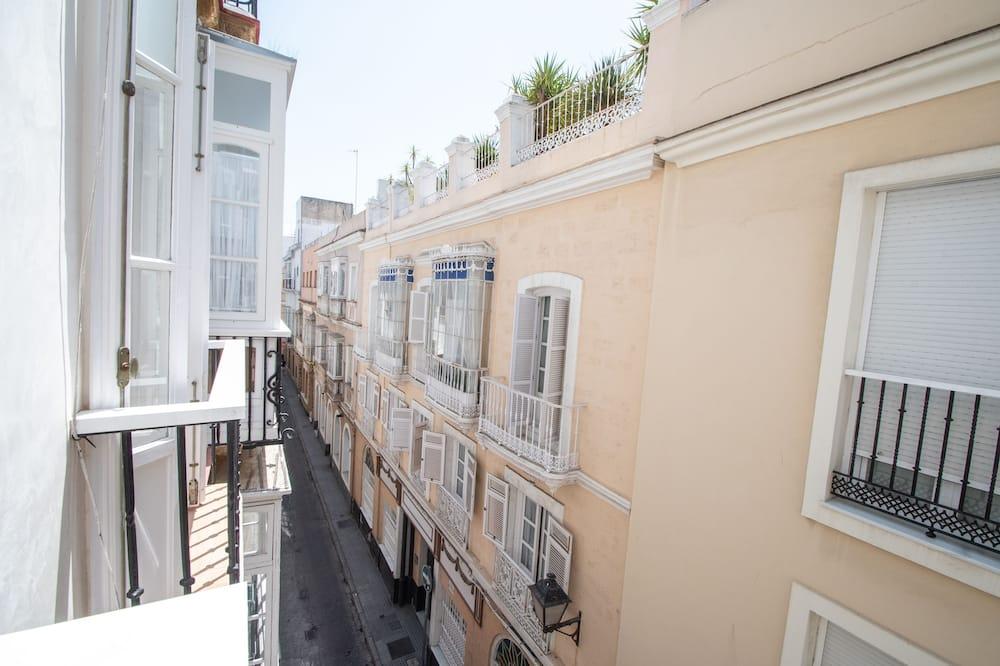 Apartamentai, 4 miegamieji, balkonas - Balkonas