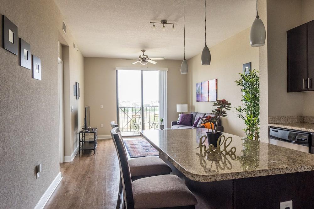 Apartment (Ground Floor) - Wohnbereich