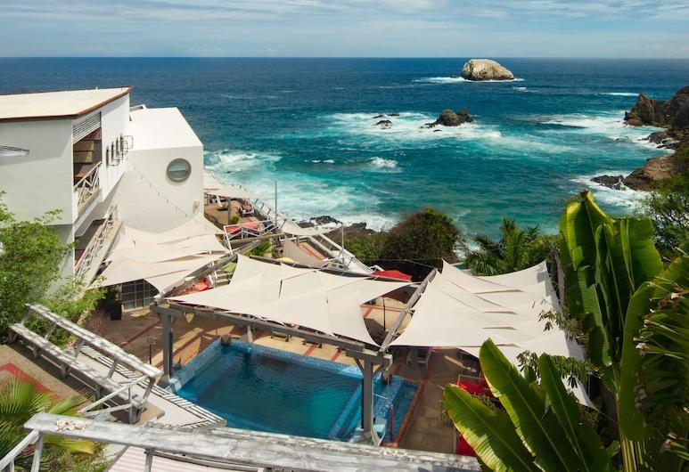 Villa Aika Zipolite Adults Suites - Adults Only, סנטה מריה טונאמקה, חוף ים