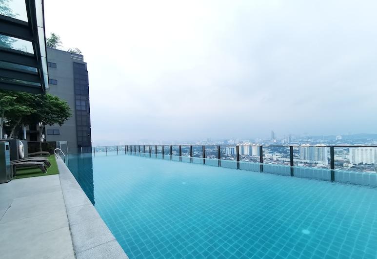 艾康城市服務式公寓飯店 @ 八打靈再也, 八打靈再也, 無邊際泳池