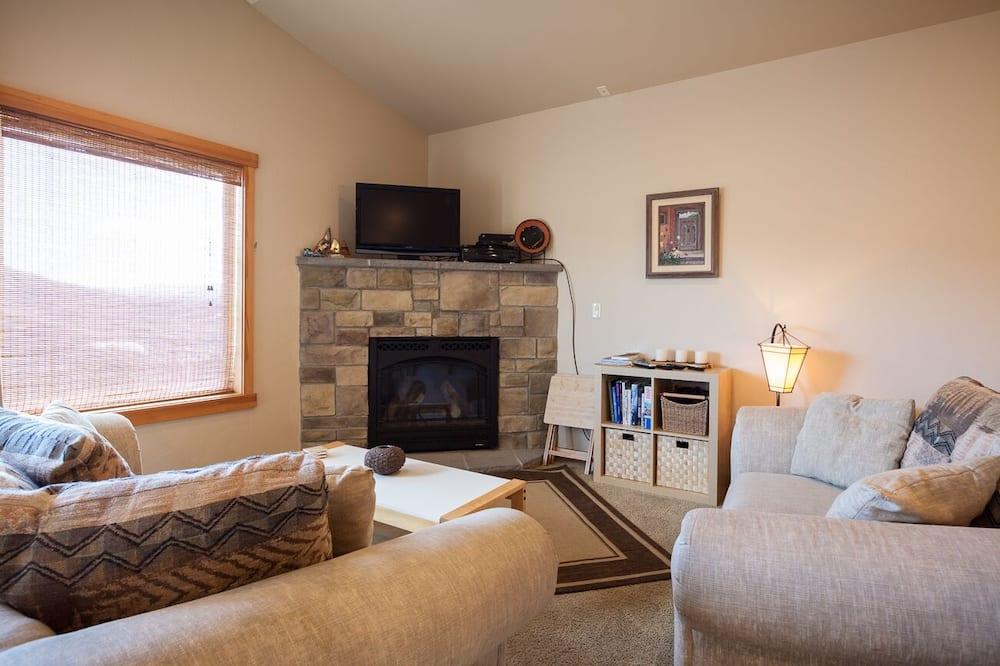 Maison, 3 chambres - Salle de séjour