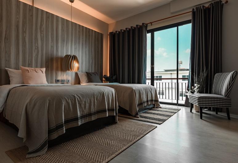 The Brown Hotel, Krabi, Deluxe Twin kamer, Kamer