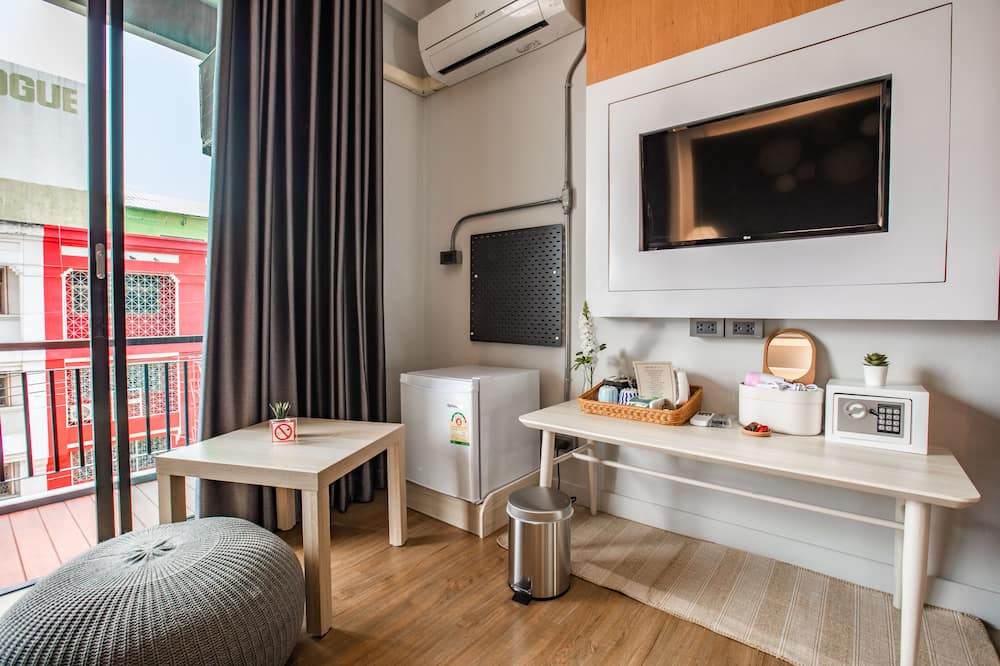 Deluxe Double Room with Balcony - Opholdsområde