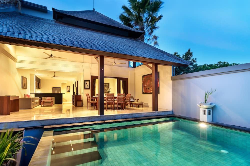 Villa, 3 habitaciones, vistas a la piscina - Zona de estar