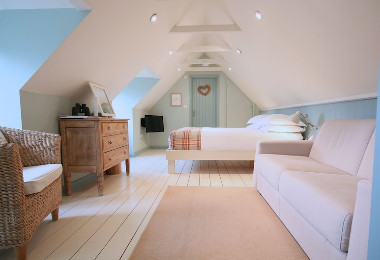 The Apartments Quidhampton Mill, Solsberis, The Loft, Kambarys