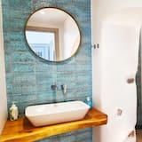 Апартаменты «Делюкс», 2 спальни, вид на море - Ванная комната