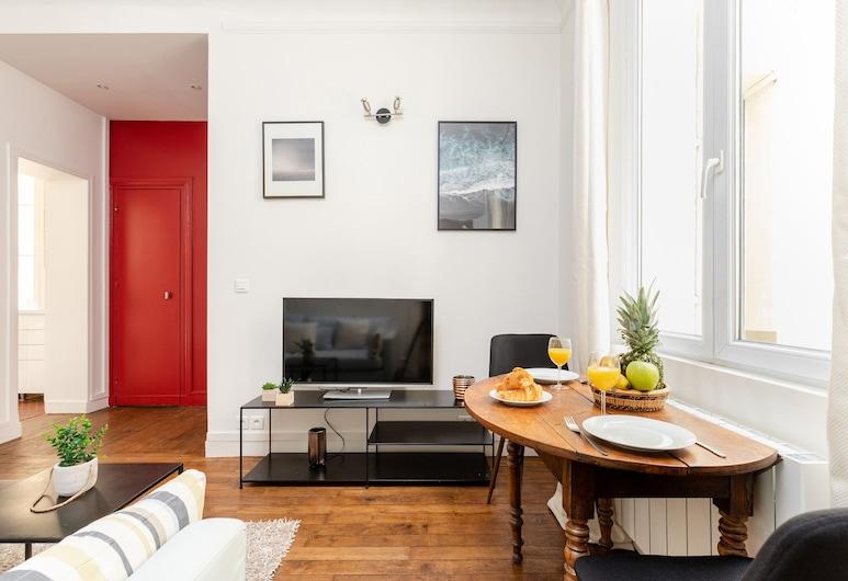 Trocadéro - Boissière Private Apartment, Paris, 091. Boissière, Salle de séjour