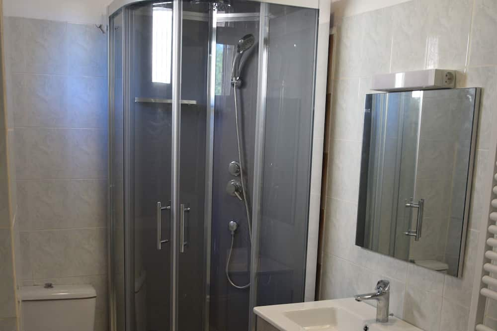 คอทเทจสำหรับครอบครัว, ห้องน้ำส่วนตัว, วิวสวน (Gîte) - ห้องน้ำ