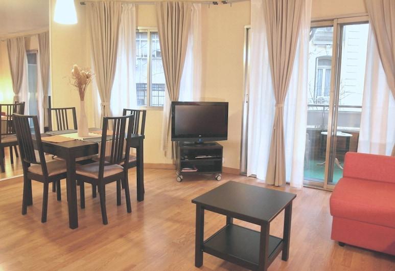 DFlat Escultor Madrid 106 Apartments, Madrid, Apartment, 1 Schlafzimmer, Wohnbereich