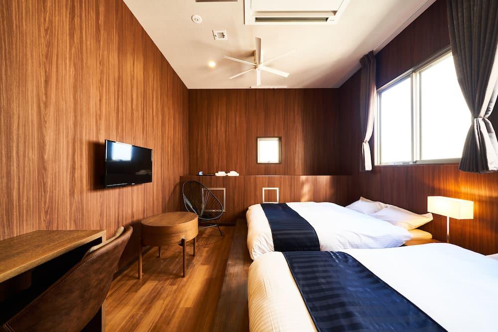 디럭스 트윈룸, 전용 욕실 - 객실