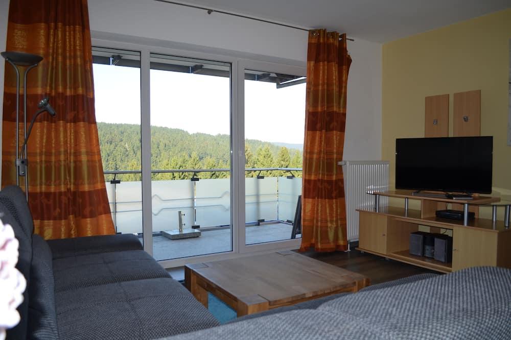 Appartement, 2 slaapkamers (Reinigungsgebühr /Cleaning Fee EUR 60) - Woonkamer
