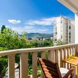 Deluxe apartman, 1 hálószobával, kilátással a városra - Erkély
