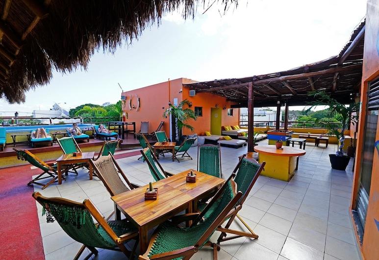 Hostel 3B Chic & Cheap, Playa del Carmen, Terraza o patio