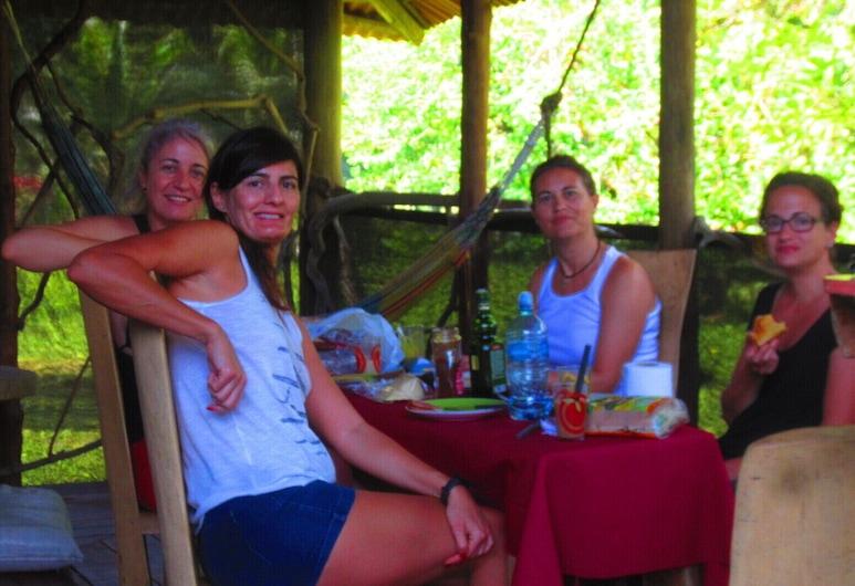 EcoFarm Casa Pequeña, Drake Bay, Cabana de Madeira Comfort, Quarto