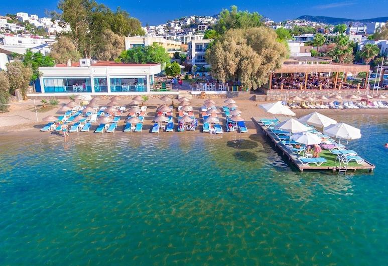 Breeze Beach Hotel - All Inclusive, Bodrum, Pláž