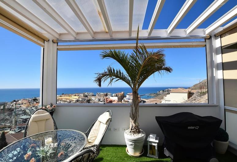 Peak of Arguineguin, Mogan, Deluxe Apartment, 1 Bedroom, Ocean View, Terrace/Patio