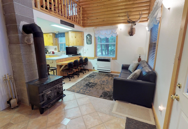 The Cabin at Lydias Canyon, Glendale, Stuga, Vardagsrum