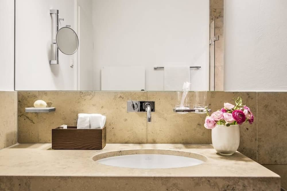 單人房, 花園景 - 浴室洗手盤