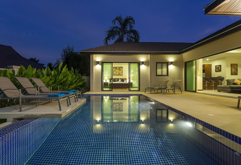 Luxury Villa Onyx Nai Harn Beach, Rawai, Piscina Exterior
