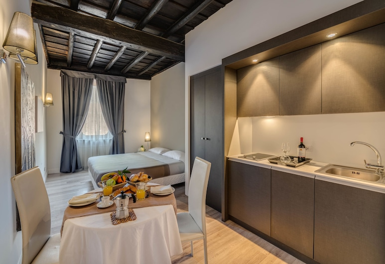 Il Foro Luxury Suites, Rome, Deluxe appartement, 2 slaapkamers, Kamer