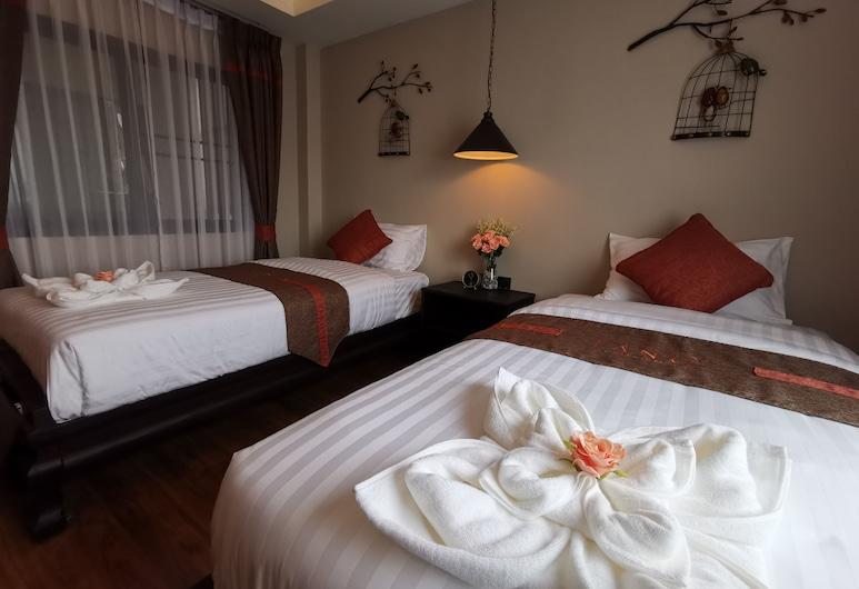 Fang Chiang Mai, Chiang Mai, Chambre Deluxe avec lits jumeaux, Chambre