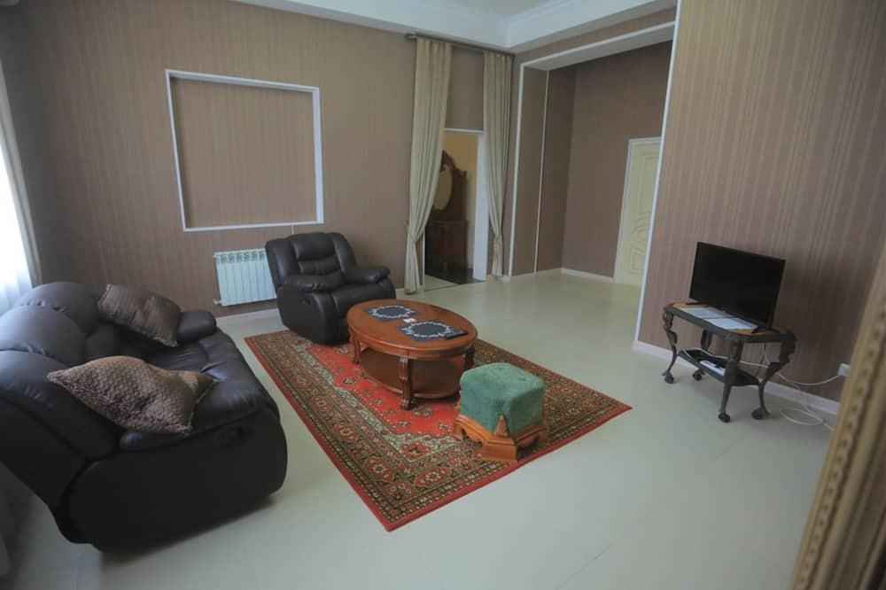 Luksusa numurs, viena guļamistaba - Dzīvojamā zona