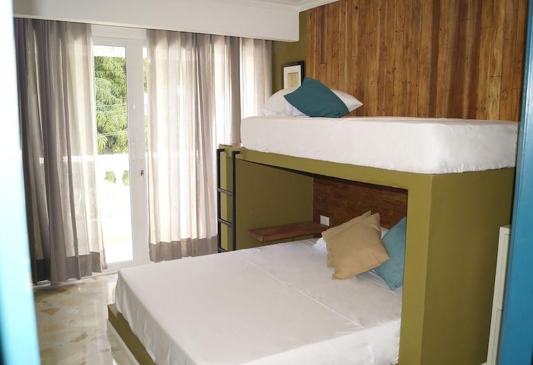 印第亞卡塔赫納朝聖者青年旅舍, 喀他基那, 標準四人房, 客房