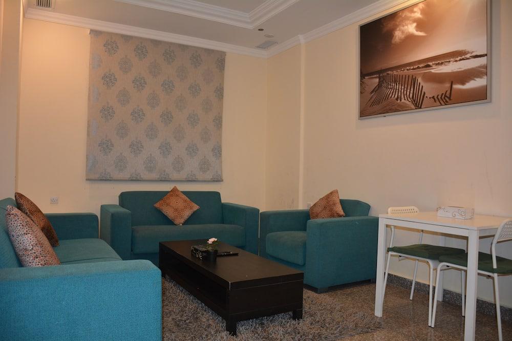 Lejlighed - 2 soveværelser - strandudsigt - Stue