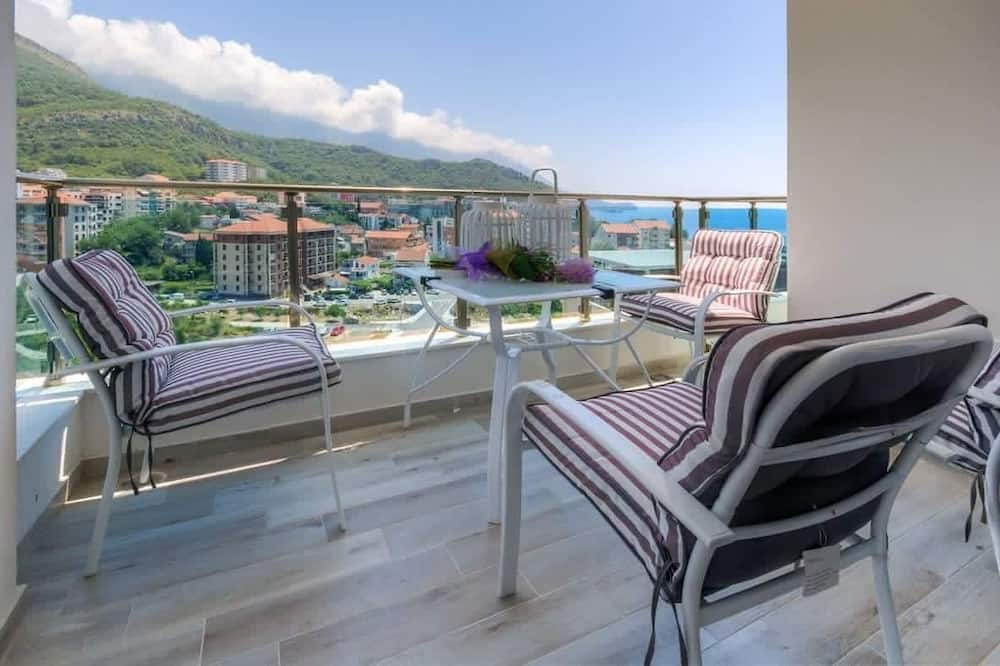 Appartement, 2 slaapkamers (Sea) - Balkon