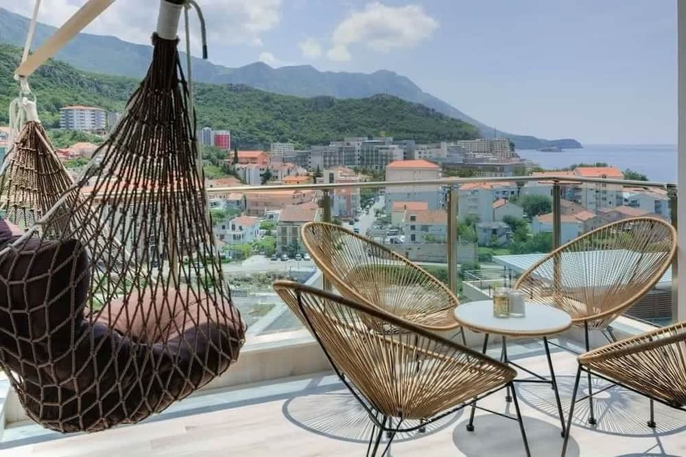 Appartement, 2 slaapkamers (Loft) - Balkon