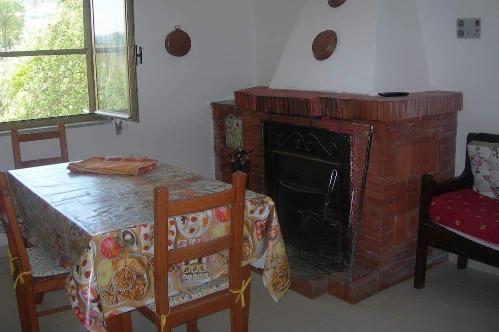 Traditionelt hus - 2 soveværelser - Spisning på værelset