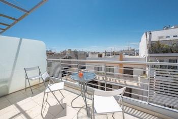 Φωτογραφία του Μοντέρνο λοφτ με θέα στην Ακρόπολη από την Cloudkeys, Αθήνα