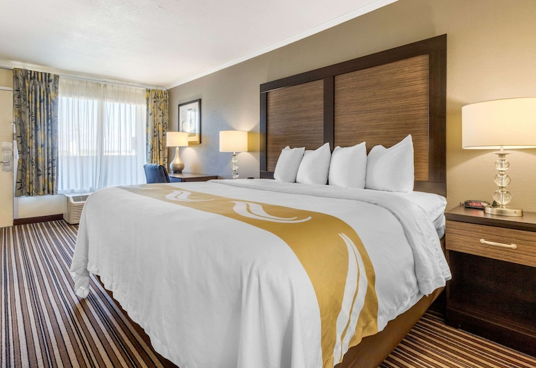 Quality Inn Airport South, Charlotte, Standard Room, 1 King Bed, Non Smoking, Guest Room
