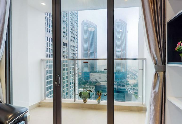 Cindy Vinhomes Skylake Apartments, Hanoi, Deluxe Apartment, Pemandangan Bilik Tamu