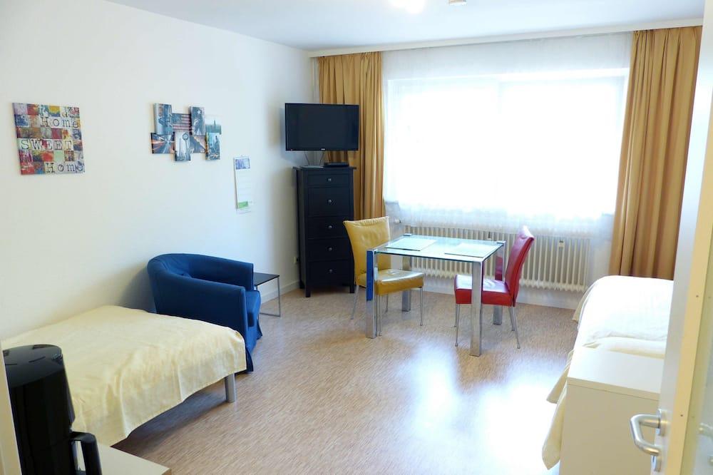 Apartmán, kuchynka - Obývacie priestory