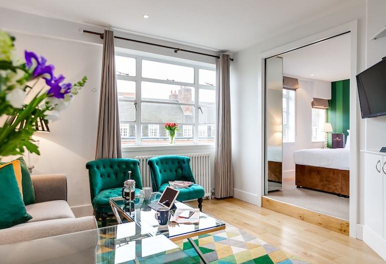 Nell Gwynn Chelsea Accommodation, Londra, Executive Apart Daire, 1 Yatak Odası, Oturma Alanı