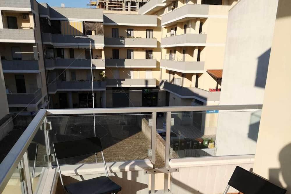 Classic-Apartment, 1 Queen-Bett, Küche - Terrasse/Patio