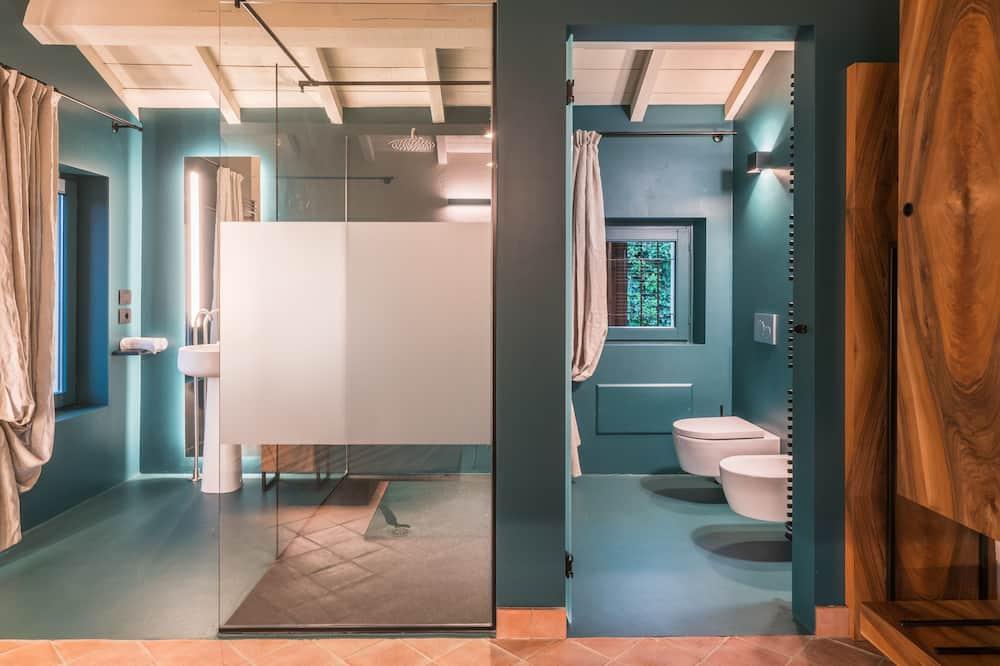 Pokoj Exclusive s dvojlůžkem nebo dvěma jednolůžky (Melissa) - Koupelna