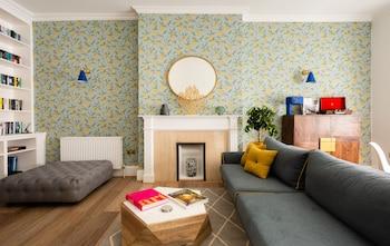 런던의 더 글로스터 로드 뮤스 - 모던하고 스타일리시한 침실 1개 아파트먼트 사진