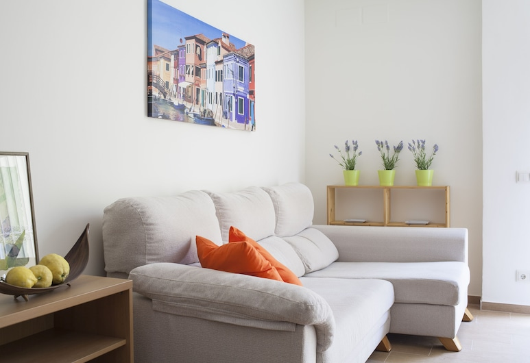 完整中心真實村舍酒店, 巴塞隆拿, 公寓, 3 間臥室, 客廳