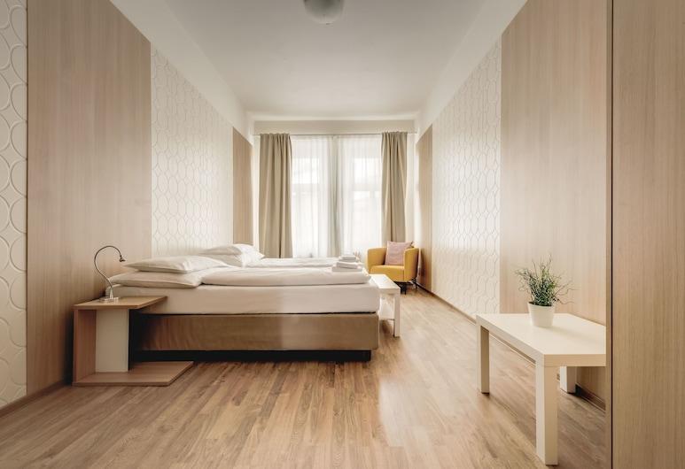 Bright Prague Castle Apartments, Praga, Apartamento básico, Quarto