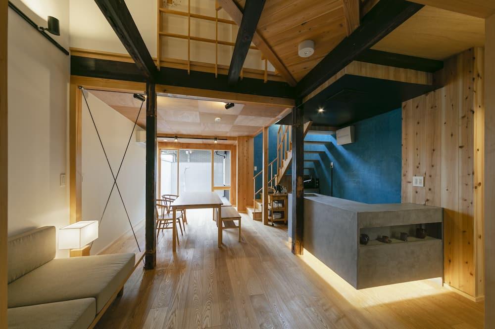 Traditional-Haus, 3Schlafzimmer - Wohnbereich