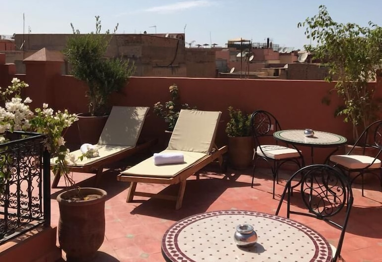 Riad Milouda , Marrakech, Terraza o patio