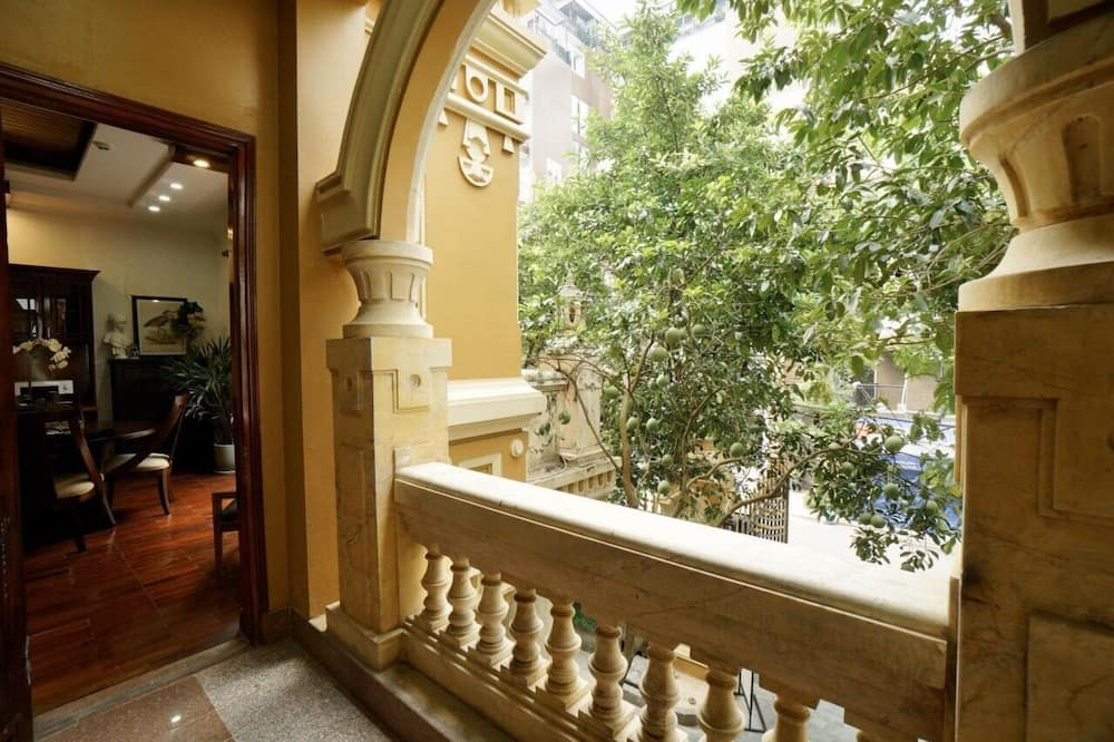 Appartement, 1 chambre, accès piscine, vue jardin - Balcon