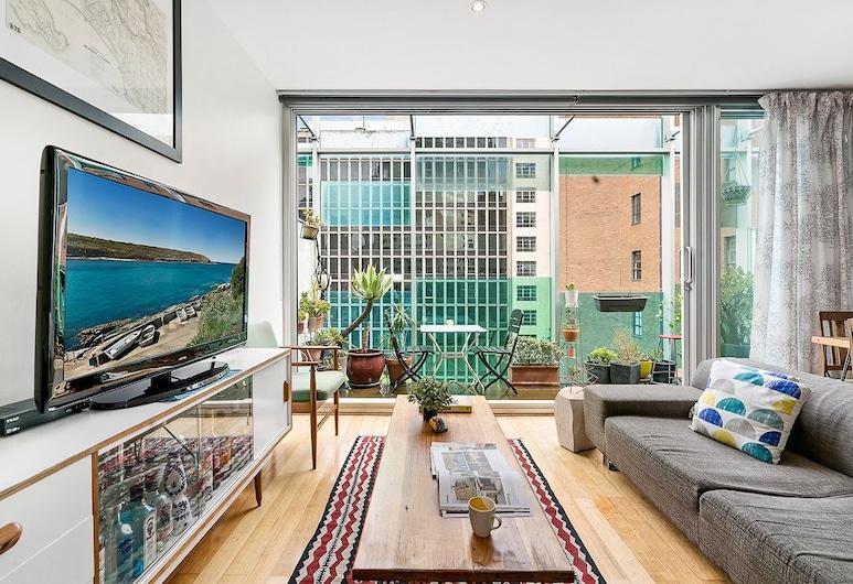 Zelda 1 Bedroom Central CBD Apartment, Melbourne, Design Apartment, Living Area